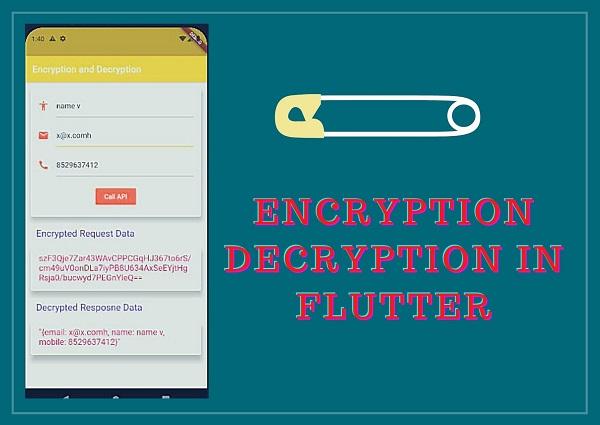 Encryption Decryption in Flutter