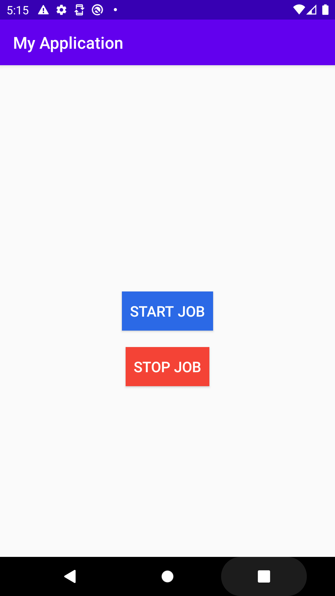 Android Job Scheduler with Kotlin