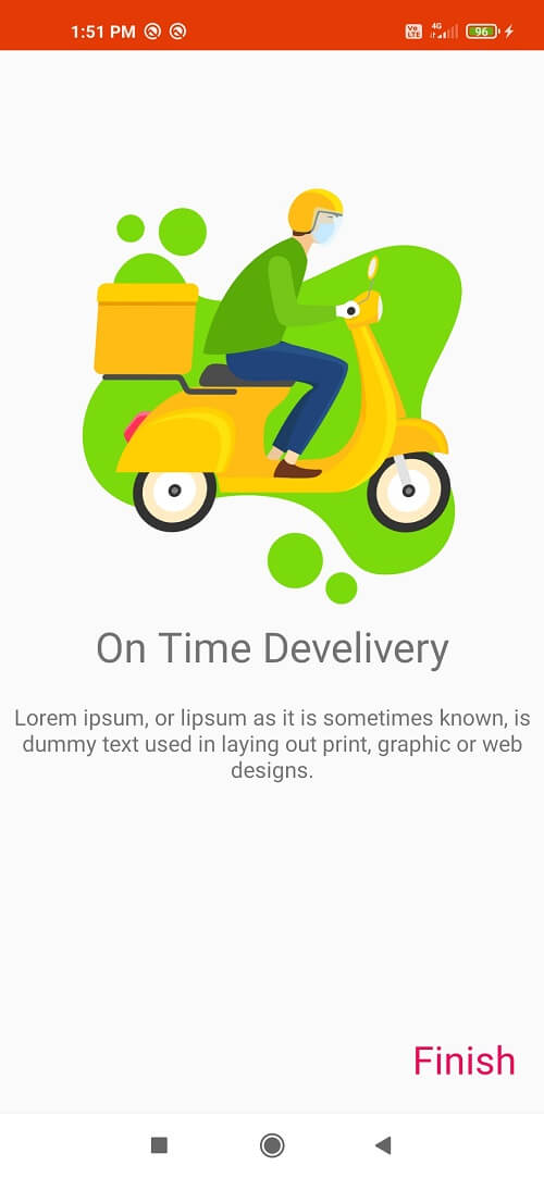 Android Onboarding Screen UI Library
