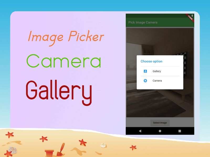 Image Picker Flutter - Take Image From Camera or Gallery
