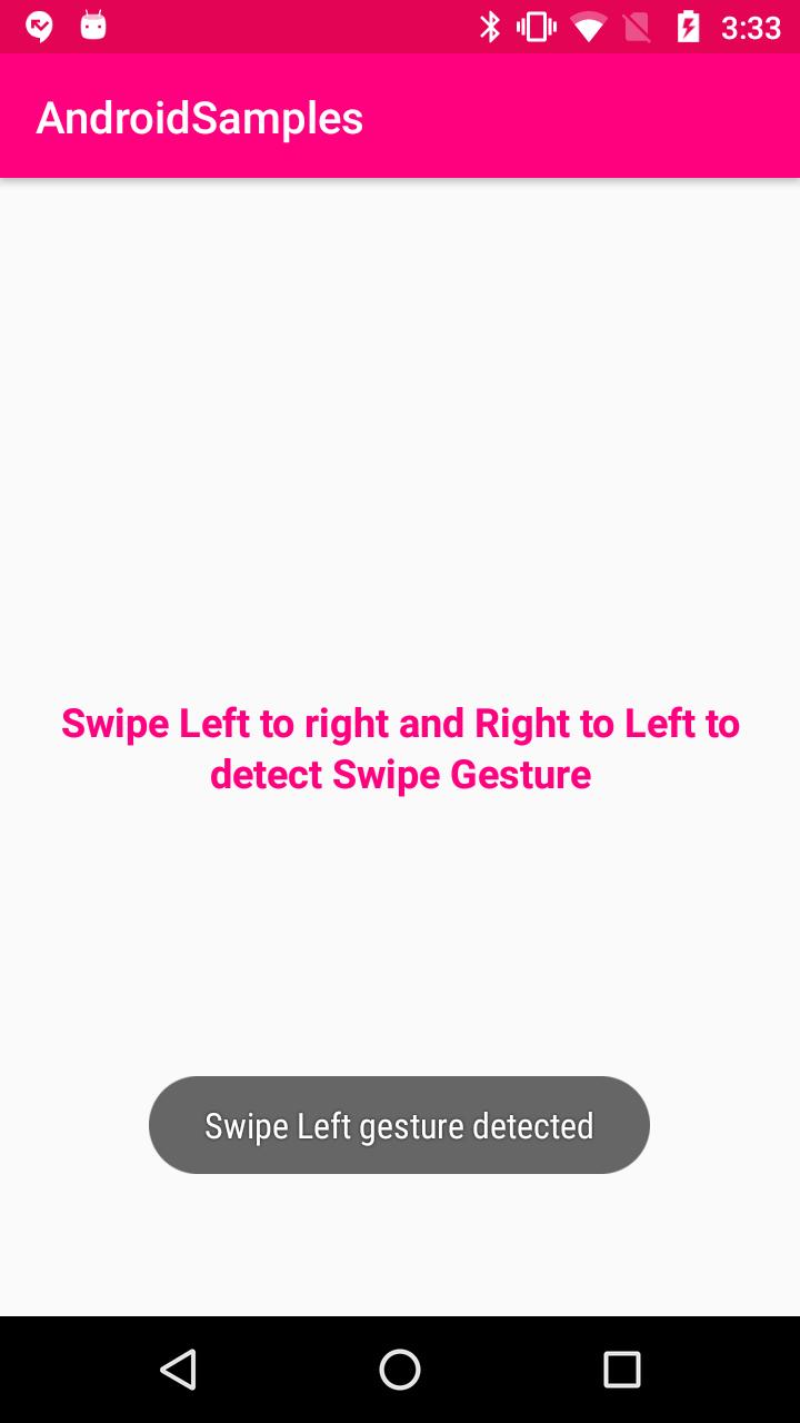 Kotlin - Android Swipe gestures