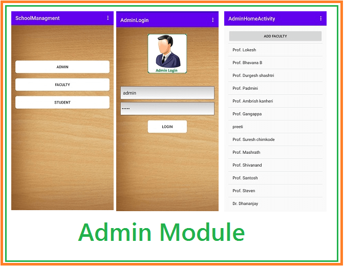 School Management System Android with PHP