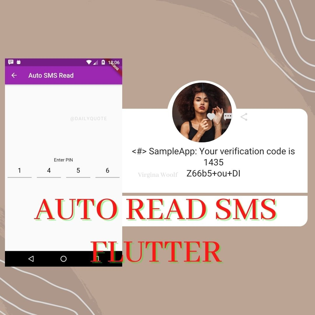 AUTO FILL OTP FLUTTER ANDROID
