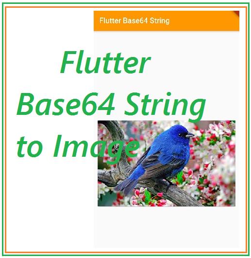 Base64 String to Image