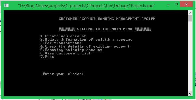 BMS C Project