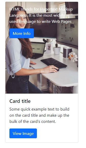 Bootstrap5 card examples