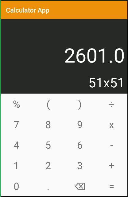 Simple Calculator Application