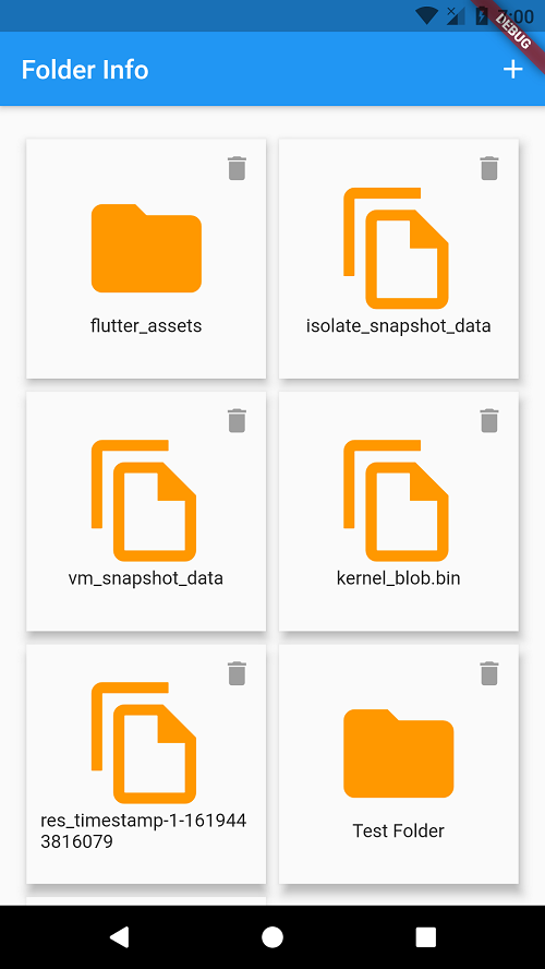 Flutter Create folder in internal storage
