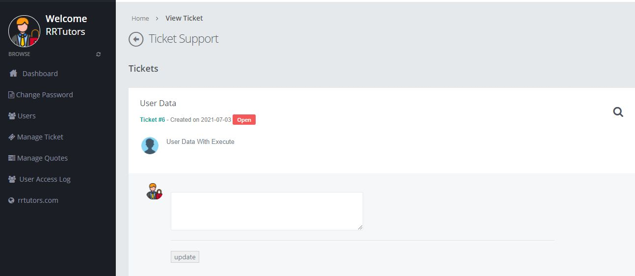 PHP CRM Project