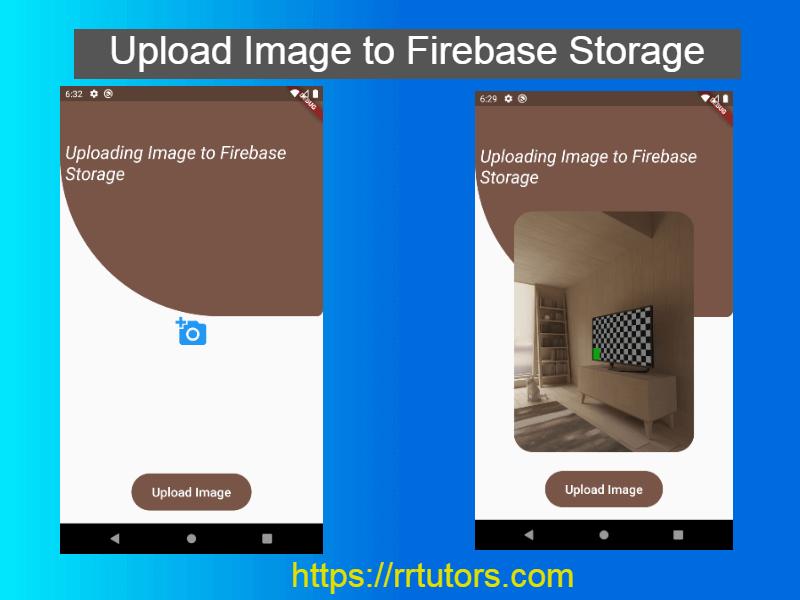 Image Upload to Firebase storage