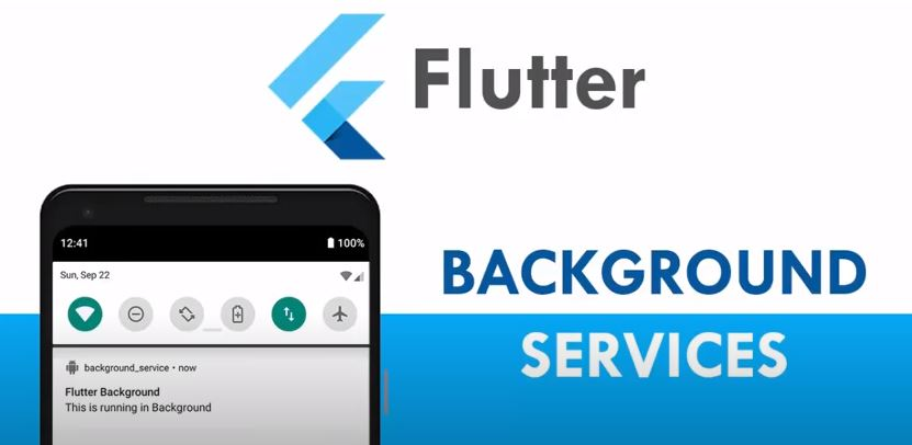 Flutter - How to Run Background Task? Service