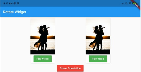 Flutter Chnage Screen Orientation dynamically