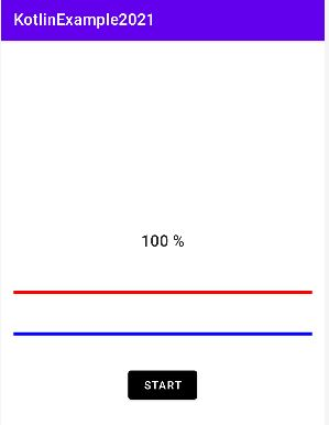 Android Set progressbar color dynamically
