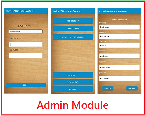 Attendance Management System Android
