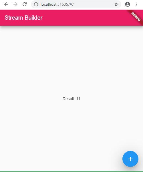 StreamBuilder