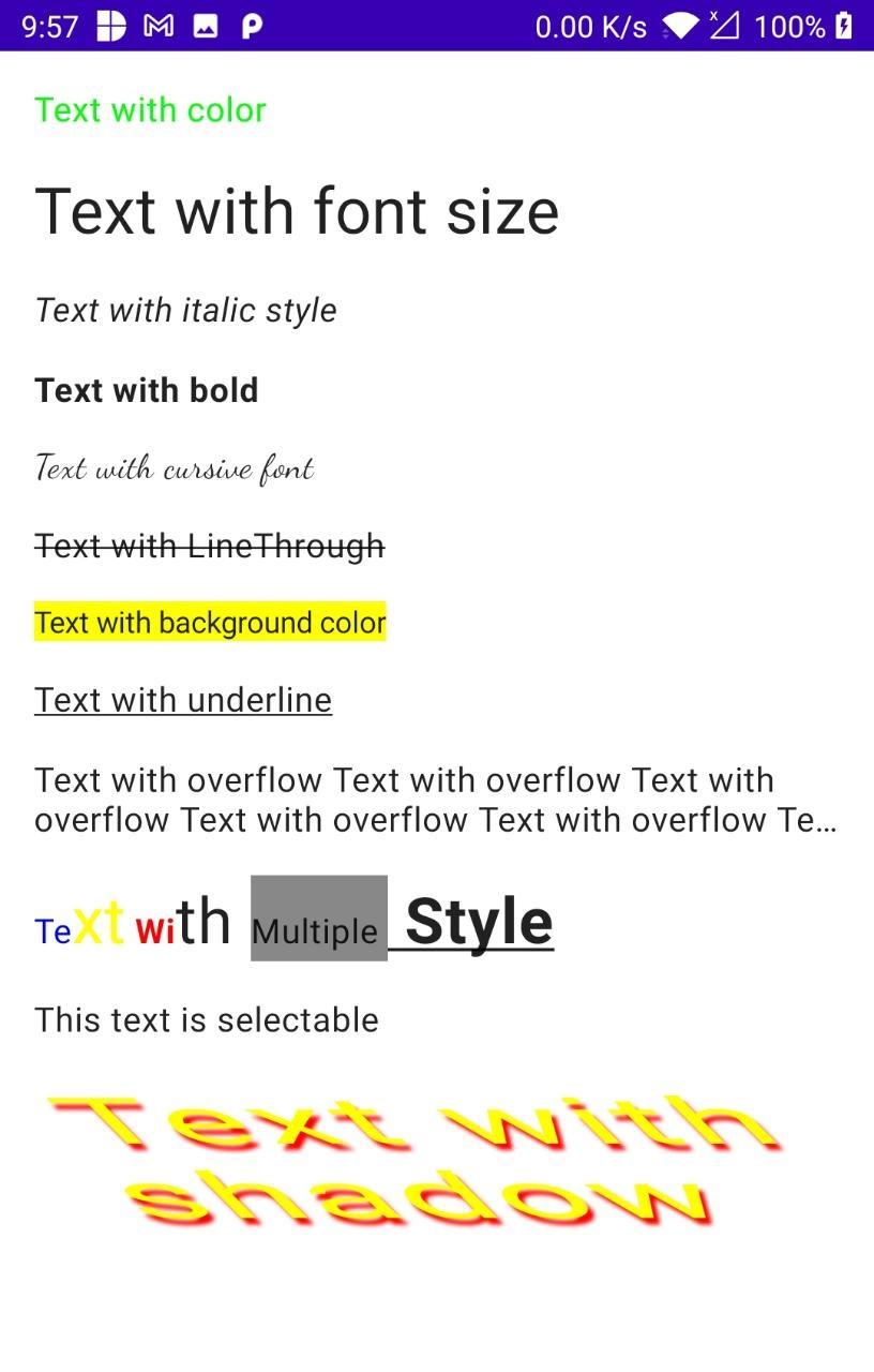 Textview compose