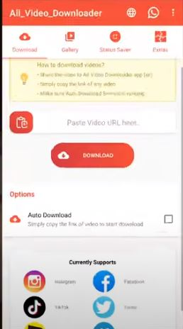 All Video Downloader And Story Saver App Source Code
